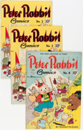 Golden Age (1938-1955):Funny Animal, Peter Rabbit Comics Group (Avon, 1947-49) Condition: AverageVG/FN.... (Total: 9 Comic Books)