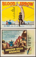 """Movie Posters:Western, Dragoon Wells Massacre & Others Lot (Allied Artists, 1957).Half Sheets (3) (22"""" X 28""""). Western.. ... (Total: 3 Items)"""