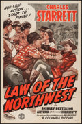 """Movie Posters:Western, Law of the Northwest (Columbia, 1943). One Sheet (27"""" X 41""""). Western.. ..."""