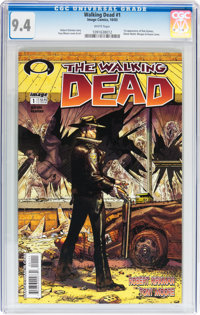 Walking Dead #1 (Image, 2003) CGC NM 9.4 White pages