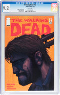 Modern Age (1980-Present):Horror, Walking Dead #12 (Image, 2004) CGC NM- 9.2 White pages....