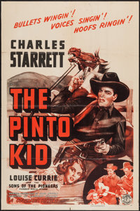"""The Pinto Kid and Other Lot (Columbia, 1941). One Sheets (2) (27"""" X 41""""). Western. ... (Total: 2 Items)"""