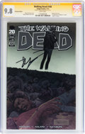 Modern Age (1980-Present):Horror, Walking Dead #100 Chromium Edition signed by Robert Kirkman (Image,2012) CGC Signature Series NM/MT 9.8 White pages....