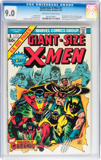 Giant-Size X-Men #1 (Marvel, 1975) CGC VF/NM 9.0 Off-white to white pages