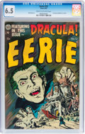 Golden Age (1938-1955):Horror, Eerie #12 (Avon, 1953) CGC FN+ 6.5 Cream to off-white pages....