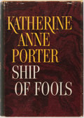 Books:Literature 1900-up, Katherine Anne Porter. INSCRIBED. Ship of Fools. Little,Brown, 1962. First edition, first printing. Signed an...