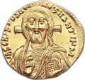 Ancients:Byzantine, Ancients: Justinian II, First Reign (AD 685-695). AV solidus (20mm,4.48gm, 6h)....
