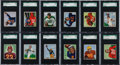 Football Cards:Sets, 1950 Bowman Football High Grade Complete Set (144) With 98 GradedCards! ...