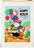 Original Comic Art:Covers, My Happy Hour Colouring Book Cover Original Art (UK, c.1980s)....