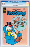 Modern Age (1980-Present):Humor, Uncle Scrooge #201 (Whitman, 1983) CGC NM- 9.2 White pages....