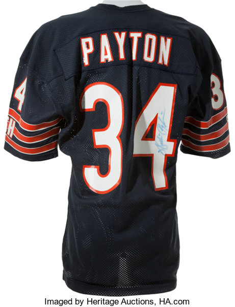 Mid 1980 s Walter Payton Game Worn Issued 600868d9c