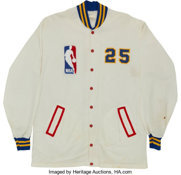 competitive price e7849 4cc9f Early 1980's Dave Robisch Game Worn Denver Nuggets Warm Up ...
