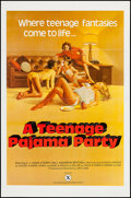 """Movie Posters:Adult, A Teenage Pajama Party (VEP, 1977). One Sheet (27"""" X 41"""") Flat Folded. Adult.. ..."""