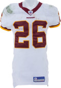 Football Collectibles:Uniforms, 2005 Clinton Portis Game Worn, Unwashed Jersey and Pants....