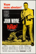 "Movie Posters:Adventure, Hatari! (Paramount, R-1967). One Sheet (27"" X 41""). Adventure.. ..."