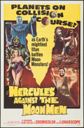 """Movie Posters:Fantasy, Hercules Against the Moon Men (Governor Films, 1965). One Sheet(27"""" X 41""""). Fantasy.. ..."""