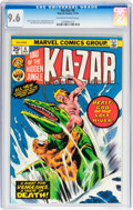Bronze Age (1970-1979):Adventure, Ka-Zar #6 (Marvel, 1974) CGC NM+ 9.6 Off-white to white pages....