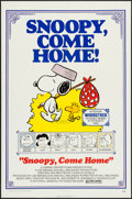 """Movie Posters:Animation, Snoopy, Come Home! (National General, 1972). One Sheet (27"""" X 41"""").Animation.. ..."""