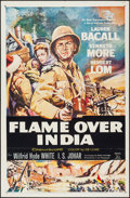 "Movie Posters:Adventure, Flame Over India (20th Century Fox, 1960). One Sheet (27"" X 41"").Adventure.. ..."