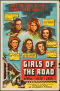 "Movie Posters:Bad Girl, Girls of the Road (Columbia, 1940). One Sheet (27"" X 41""). BadGirl.. ..."