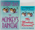 Books:Signed Editions, Robert Crais. SIGNED. Group of Two Signed Editions. The Monkey's Raincoat. Doubleday, 1993. Bantam, 1987. Paperback ... (Total: 2 Items)