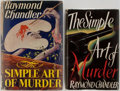 Books:First Editions, Raymond Chandler. Group of Two First Editions. The Simple Art ofMurder. Hamish Hamilton, 1950. Houghton Mifflin, 19... (Total:2 Items)