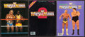 Miscellaneous Collectibles:General, 1985-87 Wrestlemania I, II and III Programs Lot of 3....