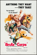 "Movie Posters:Exploitation, Brute Corps (General Film, 1972). One Sheet (27"" X 41"") Style C.Exploitation.. ..."