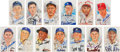 Baseball Collectibles:Others, 1980's Hall of Famers Signed Perez-Steele Postcards Lot of 97....