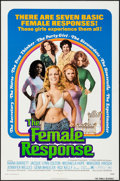 "Movie Posters:Sexploitation, The Female Response (Trans American, 1972). One Sheet (27"" X 41"")& Lobby Card Set of 8 (11"" X 14""). Sexploitation.. ... (Total:9 Items)"