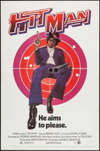 "Hit Man (MGM, 1973). One Sheet (27"" X 41""). Blaxploitation"