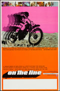 "Movie Posters:Documentary, On the Line (Ambassador Releasing, 1972). One Sheet (23"" X 35""). Documentary.. ..."