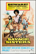 "Movie Posters:Bad Girl, Savage Sisters (American International, 1974). One Sheet (27"" X41""). Bad Girl.. ..."