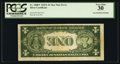 Error Notes:Inverted Reverses, Fr. 1608* $1 1935A Inverted Reverse Silver Certificate. PCGS VeryFine 30.. ...