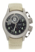 Timepieces:Wristwatch, Hamilton Khaki Navy Frogman Auto Chrono Wristwatch. ...