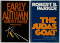 Books:First Editions, Robert B. Parker. Group of Two First Editions. The JudasGoat. Houghton Mifflin, 1978. First edition, first printing...(Total: 2 Items)