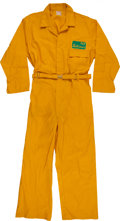 Football Collectibles:Uniforms, Circa 1960's Green Bay Packers Game Worn Cold Weather Usher's Uniform - Ice Bowl Era....