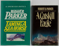 Books:First Editions, Robert B. Parker. Group of Two First Editions. Taming aSea-Horse. Delacorte, 1986. First edition, first printing. ...(Total: 2 Items)