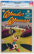 Golden Age (1938-1955):Superhero, Wonder Woman #34 (DC, 1949) CGC NM 9.4 Off-white pages....