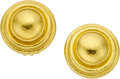 Estate Jewelry:Earrings, Elizabeth Locke 18k Gold Earrings. ...