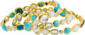 Estate Jewelry:Bracelets, Ippolita Multi-Stone, Gold Bracelets. ... (Total: 3 Items)