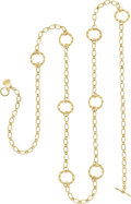 Estate Jewelry:Necklaces, Emily Armenta 18k Gold Necklace. ...