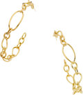 Estate Jewelry:Earrings, Cohen 18k Gold Earrings. ...