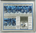 Football Collectibles:Others, Dallas Cowboys Multi-Signed Uncut Sheet Season Tickets. Exceptional uncut sheet of Dallas Cowboys season tickets from the S...
