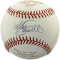 Autographs:Baseballs, Mike Schmidt Single Signed Baseball. Limited edition baseball fromMike Schmidt's Hall of Fame induction sports a neat swee...