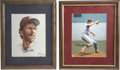 Autographs:Others, Mike Schmidt and Steve Carlton Autographed Prints. Forever linkedin history, Mike Schmidt and Steve Carlton are two of the...