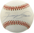 Autographs:Baseballs, Sammy Sosa Single Signed Baseball. Having recently reached the 600home run mark for his career, Sammy Sosa has generated n...