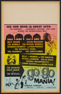 "Movie Posters:Rock and Roll, Go Go Mania (American International, 1965). Window Card (14"" X22""). Rock and Roll. ..."