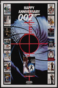 "Movie Posters:James Bond, Happy Anniversary 007: 25 Years of James Bond (MGM/UA, 1987). ABCTelevision One Sheet (27"" X 41""). James Bond. ..."