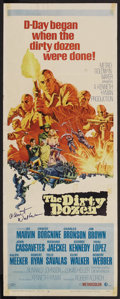 "Movie Posters:War, The Dirty Dozen (MGM, 1967). Insert (14"" X 36""). War. ..."